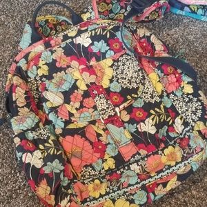 Vera Bradley Backpack with matching wristlet